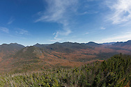 the High Peaks from the firetower on Mt. Adams