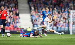 Falkirk's Will Vaulks. Falkirk 1 v 2 Inverness CT, Scottish Cup final at Hampden.