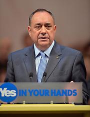 SEP 17 2014 Alex Salmond in Perth