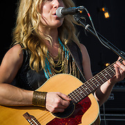 Erika Wennerstrom performing at the Heartbreaker Banquet 2015, Austin, Texas, March 18, 2015.  The Heartbreaker Banquet was presented by Electric Lady Studios and Robot Fondue and held at Willie Nelson's Luck, Texas western town.