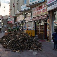 Firin found here - if the signage didn't tell you the pile of chopped wood on the street in front of the building would.