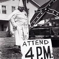 KKK Rally, Hiawathi, GA.  1987
