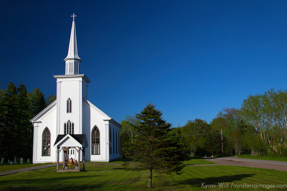 North America, Canada, Nova Scotia, Guysborough. St. Ann's Church.