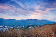 Mount Baldy and San Gabriel Mountains Foothills, Glendora, California
