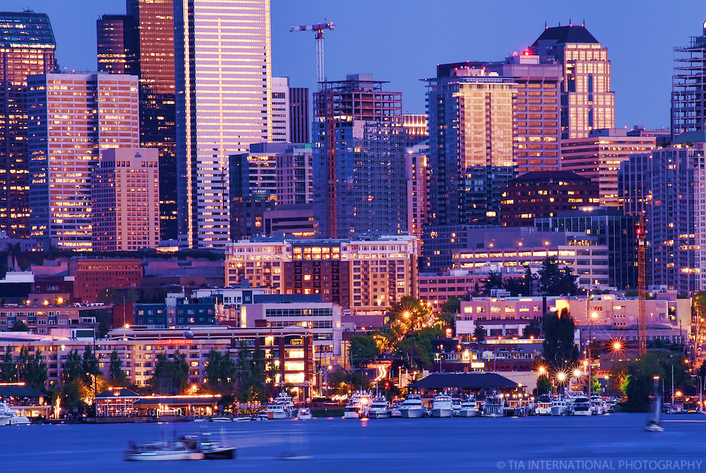 Lake Union & Downtown Seattle