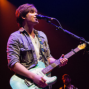 Hudson Moore performing at ACL Live at the Moody Theater, Austin, Texas, January 31, 2015.