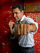 Oscar De La Hoya portraits
