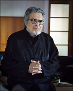 Leon Fleisher, pianist, conductor. Photo © Sarah Shatz.