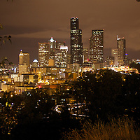 The Downtown Seattle skyline from the Dr. Jose Rizal park overlook