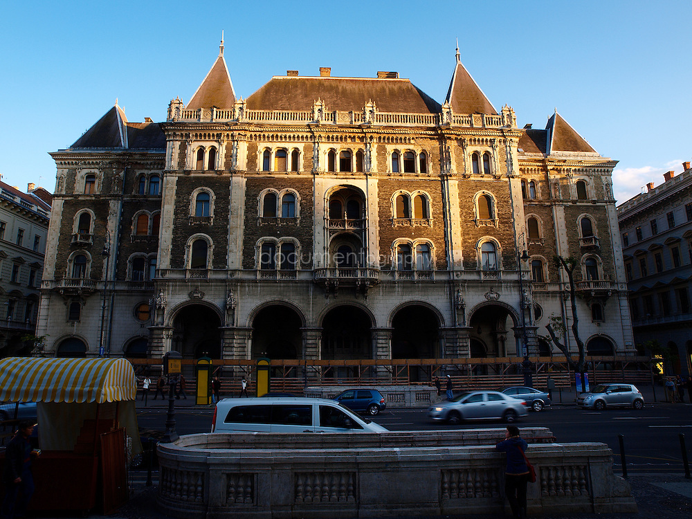 Across the street from the Operaház is the French Renaissance-style Drechsler Palace. An early work by Ödön Lechner, Hungary's master of Art Nouveau, it was formerly the home of the National Ballet School, Budapest, Hungary.