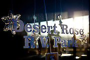 "The Desert Rose RV Park is filled with seasonal ""workampers"" for the Amazon warehouse in Fernley, Nevada, December 13, 2011. CREDIT: Max Whittaker/Prime for The Wall Street Journal.AMAZONTOWN"