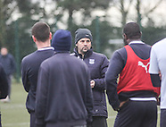 06-02-2014 - Paul Hartley first day in charge at Dundee FC