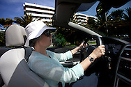 Anabela driving her car to see his father at the nursing home.<br /><br />Anabela and Carlos, a  middle-class couple, are facing a new stage in their life with early retirement situation, learning and adapting to new schedules, new rituals, new interests and above all the desire to take advantage of this new reality.<br />Photo Credit: Pedro Nunes/4SEE