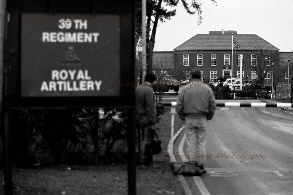 Albemarle Barracks, Ouston