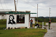 Che in Las Tres Palmas, Pinar del Rio, Cuba.