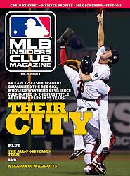 Boston Red Sox, MLB Insiders Club Magazine, 2014