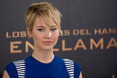 NOV 13 2013 The Hunger Games: Catching Fire Madrid Photocall