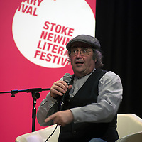 Danny Baker<br /> On stage at the Stoke Newington Literary Festival. 10 June 2013<br /> <br /> Picture by David X Green/Writer Pictures