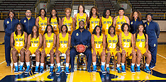 2015-16 A&T Women's Basketball Picture Day
