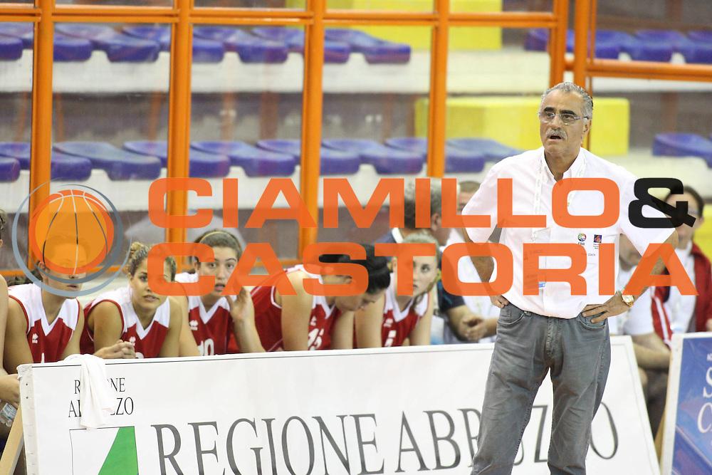 DESCRIZIONE : Pescara Giochi del Mediterraneo 2009 Mediterranean Games Grecia Greece Malta<br /> GIOCATORE : Santino Coppa<br /> SQUADRA : Malta<br /> EVENTO : Pescara Giochi del Mediterraneo 2009<br /> GARA : Grecia Greece Malta<br /> DATA : 27/06/2009<br /> CATEGORIA : coach<br /> SPORT : Pallacanestro<br /> AUTORE : Agenzia Ciamillo-Castoria/G.Ciamillo