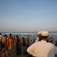 Muslim's meeting on Chennai's main beach. Chennai is the third largest commercial and industrial centre in India. It is considered to be the automobile capital of India, with a major percentage of the country?s automobile industry having a base in the city. Chennai is the second-largest exporter of IT services in India, behind Bangalore and is a base for the manufacture of hardware and electronics, with many multinational corporations setting up plants in its outskirts. The city faces problems with water shortages, traffic congestion and air pollution.