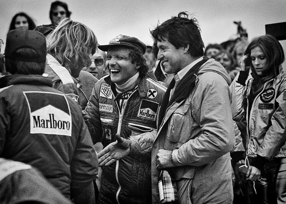 Photo of Niki Lauda & his friend   -