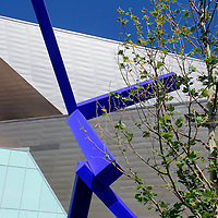 USA, Colorado, Denver. Denver Art Museum and Sculpture.
