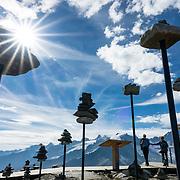 SWITZERLAND: Fiesch: Eggishorn, Aletsch Glacier