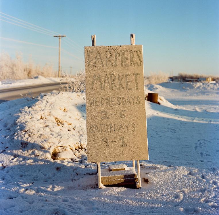 Meyers Farm in Bethel, Alaska. 2011
