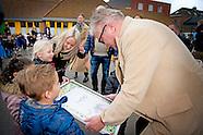 Prins Laurent brengt een bezoek aan de basisschool 3Hoek te Ekeren