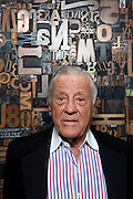 Ben Bradlee, former editor of the Washington Post, poses for a portrait in Washington, DC, June 16, 2010.