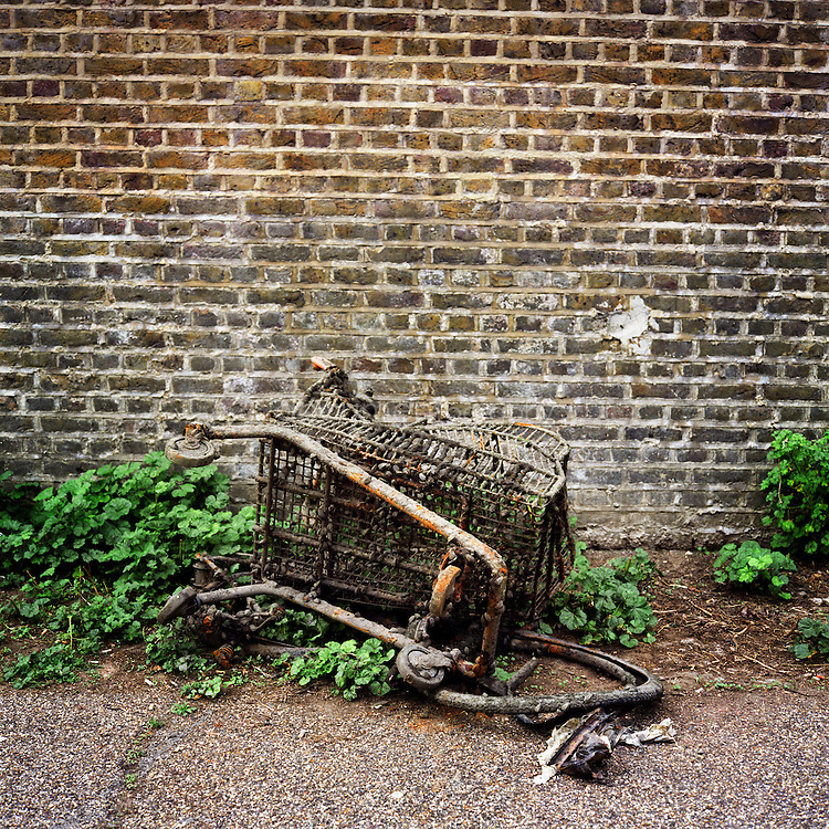 Broken trolley, Regents Canal.
