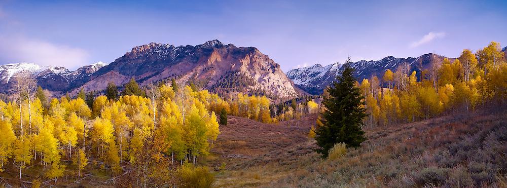 Boulder Mountains, Idaho Panoramic version