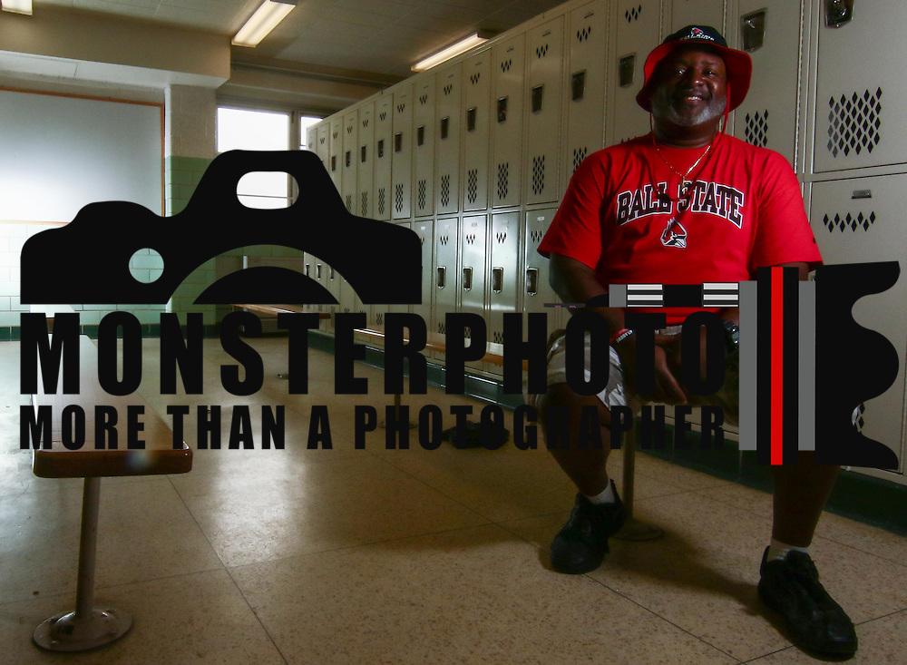 Frank Burton Senior father of William Penn quarterback Zach Burton pose for a photo during for a preseason feature shoot Thursday, August. 25, 2016, at Willian Penn High School in New Castle.