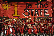 Lafayette High takes the field vs. Pontotoc in Oxford, Miss. on Friday, September 23, 2011. Lafayette won 48-7 for the school's 22nd consecutive win.