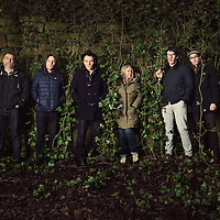 Scottish indie pop band Belle &amp; Sebastian is photographed for The Skinny on December 12, 2014 in Glasgow, Scotland<br />
