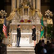 ROTC Commissioning Ceremony, St. Aloysius Church