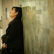 Savoeun  Keo, mother of Sophea Sun who was killed by Dimitri Sidorchuk, shows her frustration in the hallway as Sidorchuk is let go  on Thursday, January 24, 2008 at the King County Courthouse in Seattle.  Sidorchuk was given credit for time served after two hung juries heard the case.  Supporters of Keo and her family crowded the courtroom and the frustration turned to anger at the end of the sentencing.    (Photo/Seattle Post-Intelligencer, Joshua Trujillo).