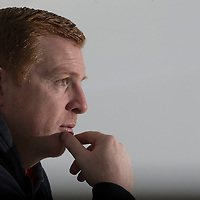 Bolton Wanderers manager Neil Lennon during his morning press conference held at the Macron Stadium on November 19th 2015