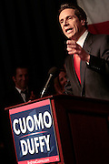 2 November 2010- New York, New York- New York Governor Elect Andrew Cuomo at The 2010 Cuomo/Duffy Democratic Campaign Victory Reception held at The Sheraton NY Hotel & Towers on November 2, 2010 in New York City. Photo Credit: Terrence Jennings