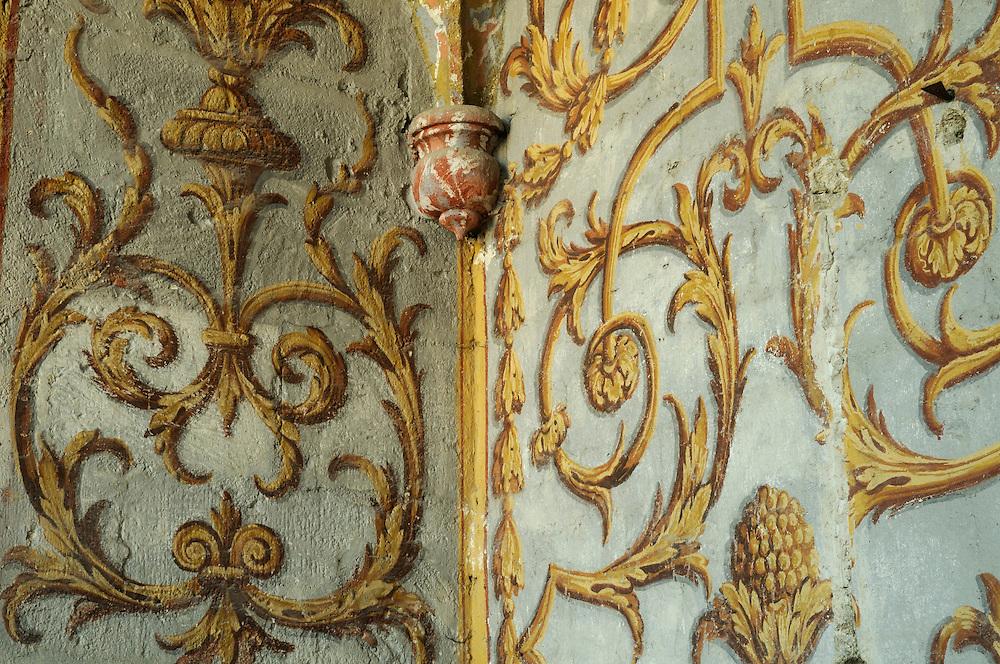 France, Languedoc Roussillon, Gard (30), Uzège, Uzès, cathédrale Saint-Théodorit, peinture XVIIeme S.