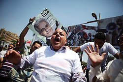 Supporters of Hamdeen Sabahi campaign in Mohandiseen. Sabahi has the support of labour movements for his policies, which many liken to those of former Egyptian President Gamal Abdel Nasser..