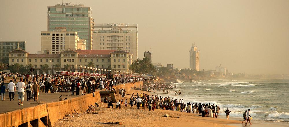 Colombo Skyline. Sri Lanka