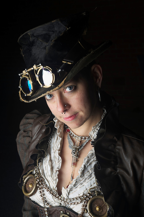 Whitby Goth Festival in North Yorkshire is held twice a year, once in April and once in October, goths and steam punks come from all over the country and abroad.