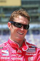 Scott Dixon at the Kansas Speedway, Kansas Indy 300, July 3, 2005
