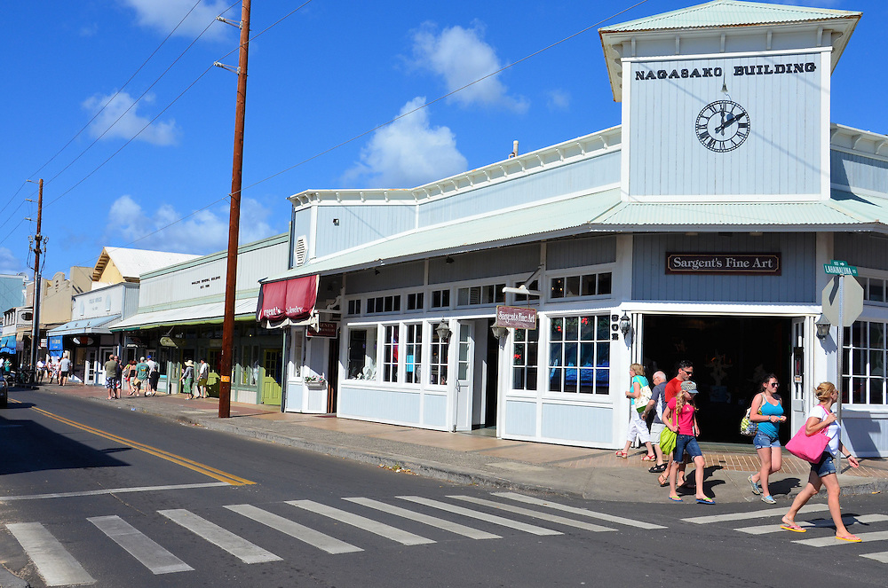 Between the New Lahaina Center and the Old Lahaina Center, there are over 70 stores and services. It is a pleasure to stroll around between the two as the fresh ocean breeze surrounds you. One of the best places for a Hawaiian shirt or lapa lapa is Hilo Hattie's at the New Lahaina Center.