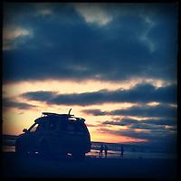 Lifeguard truck  at  Venice Beach