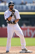 CHICAGO - AUGUST 31:  Adam Eaton #1 of the Chicago White Sox looks on against the Detroit Tigers on August 31, 2014 at U.S. Cellular Field in Chicago, Illinois.  (Photo by Ron Vesely)