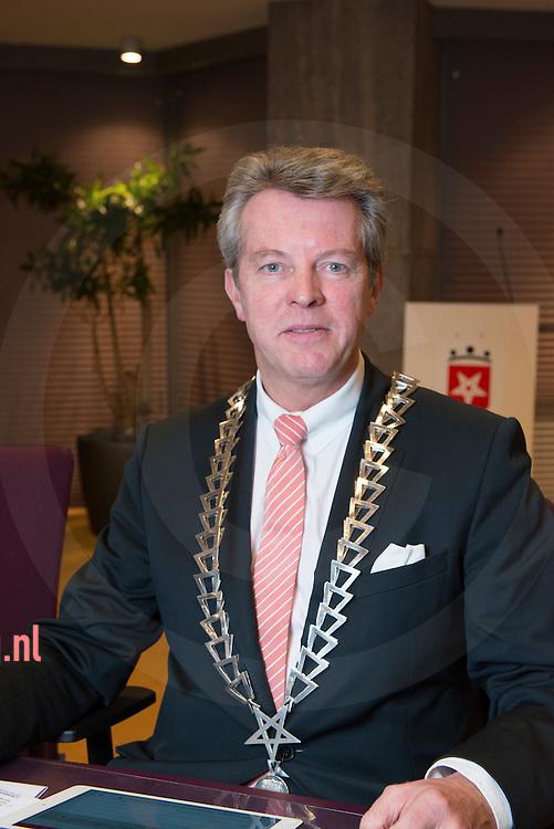 Nederland, Haaksbergen 16dec2015 Gerrit jan Kok Burgemeester Haaksbergen