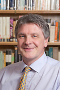 Mr Tim Knowles, Governor, Magdalen College School 2010, Photographed in the school library.